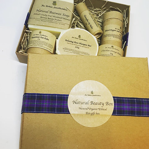 Natural Beauty Box - ethical, organic, eco gift box, waste-free cruelty-free, be
