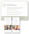 Print design for Dr. Arrowsmith by Janet Hannah Design