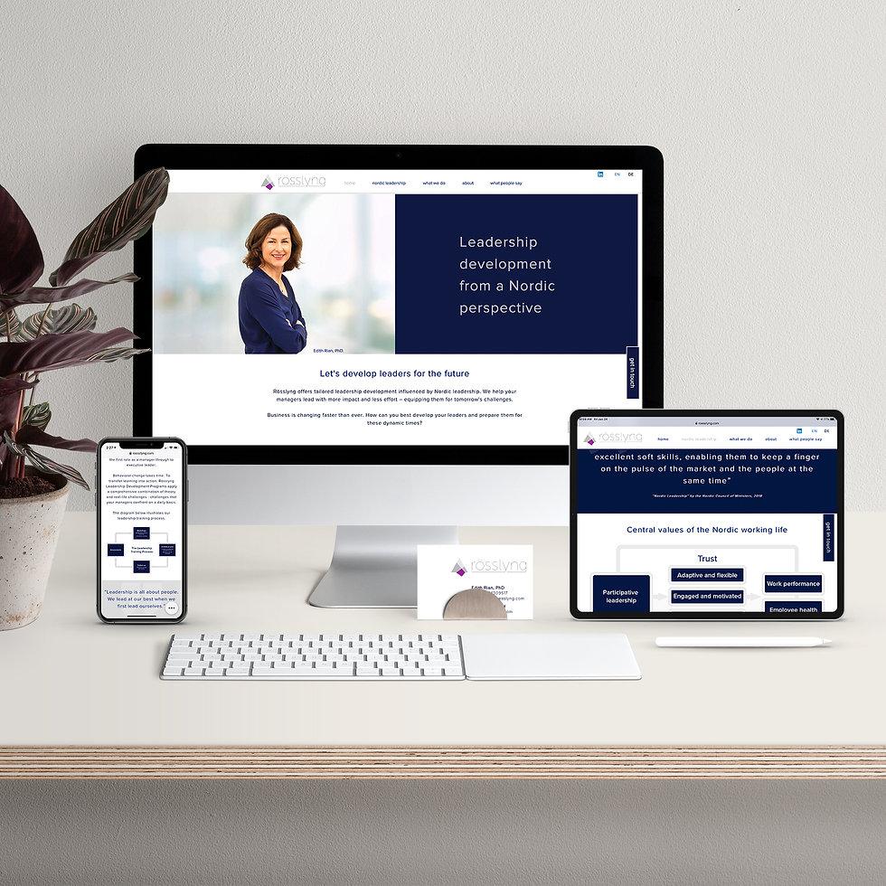 Bespoke responsive website design