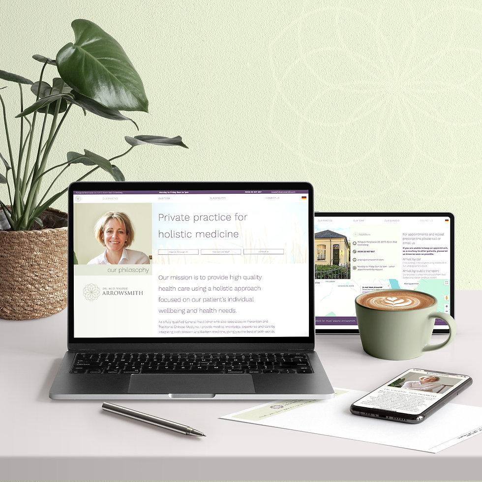 Fully responsive custom website design