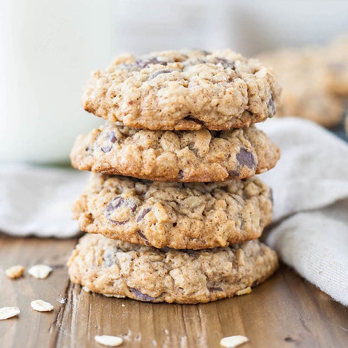 3 Pack Oatmeal Chocolate Chip Almond Butter Cookies