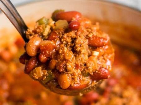 Healthy Turkey Chili