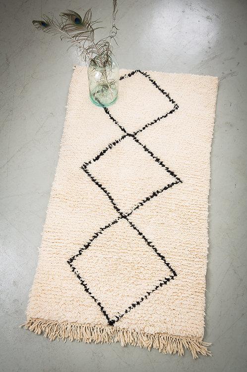 Beni Ourain - der schwarz/weisse Teppich mit Trendpotential