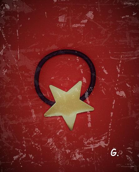 élastique à cheveux étoile