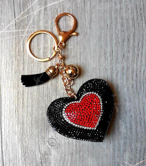 porte clés cœur