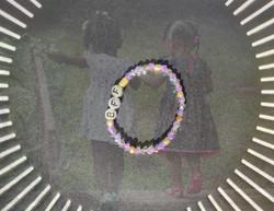 Bracelet BFF en perles de verre