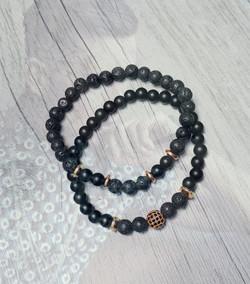 bracelets homme duo