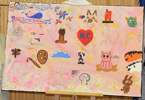 Peinture 8-12 ans par (sam.13h à 15h)