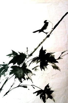 Calligraphie et suibokuga par Noriko Imai (lundi 13h à 16h)