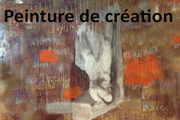 Peinture de création avec François Desharnais (sam 9h à 12h)