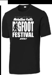 Metaline Falls Bigfoot Festival T-Shirt (Crew Neck)
