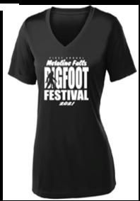 Metaline Falls Bigfoot Festival T-Shirt (V-Neck)