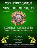 March New Richmond VFW Newsletter (Inter