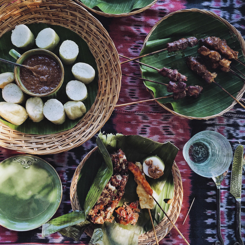 Food prepared by Nihiwatu on Sumba I
