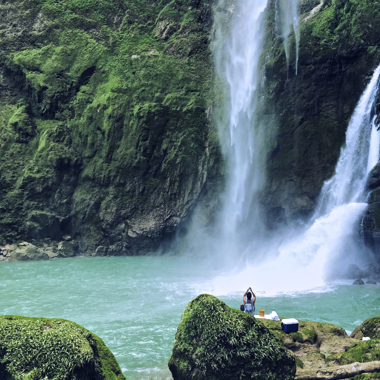 Blue Waterfall at Sumba Island