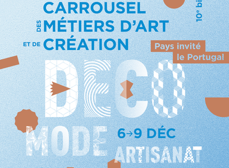 10ème édition du Carrousel des Métiers d'Art et de Création