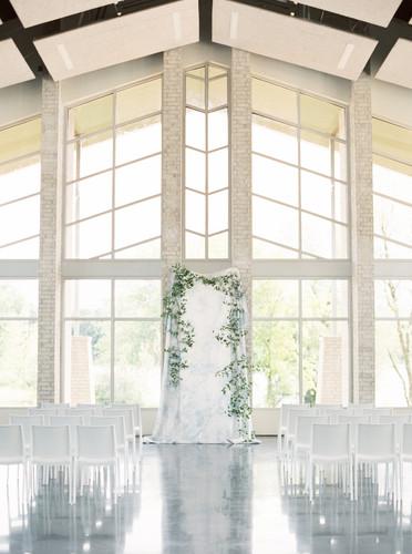 Indoor ceremony space
