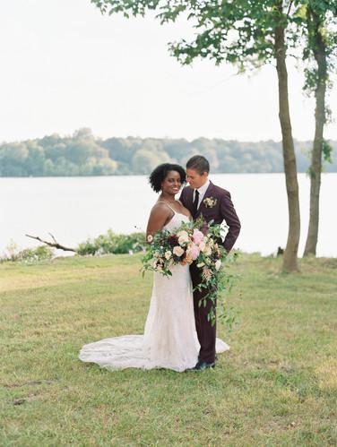 Heroncrest couple lakeside