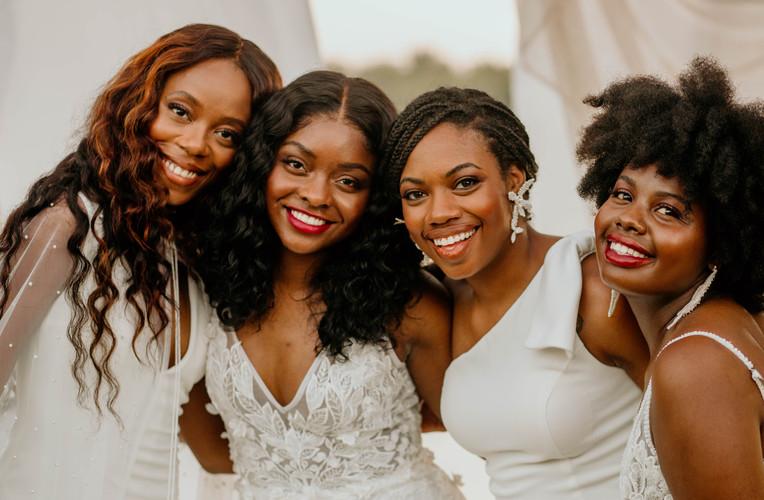 Happy brides at Heroncrest