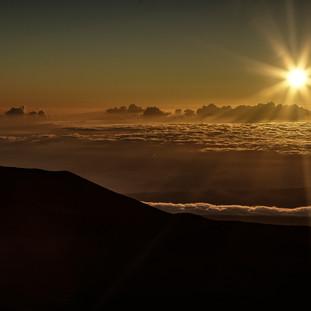 volcano hawaii sunrise