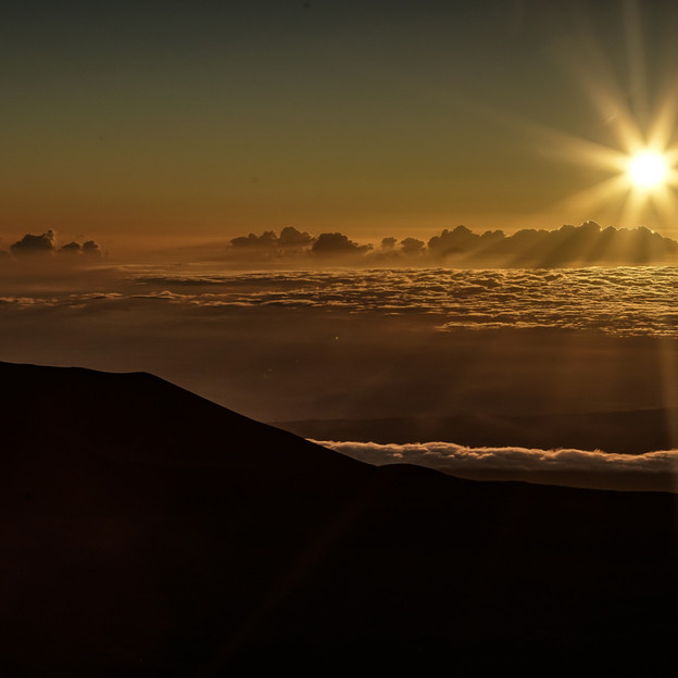 volcano hawaii sunrise