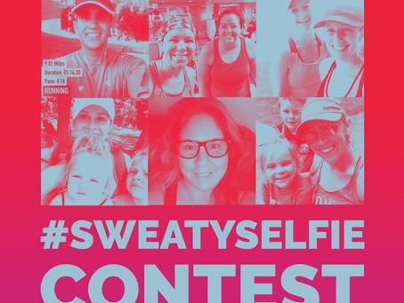 Sweaty Selfie contest!