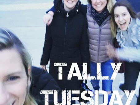 Tally Tuesday 4.9.18