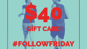 Follow Friday Giveaway: Columbus Running Company