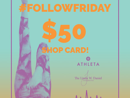 Follow Friday Giveaway: Athleta