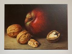 Apfel/Nüsse