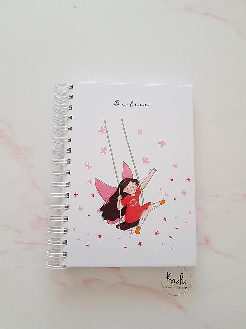 Cuaderno Be free