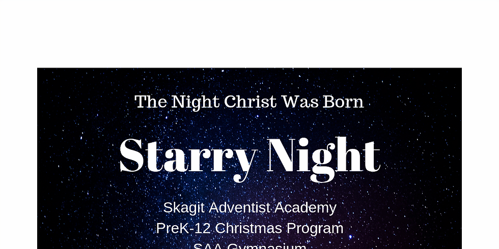 Starry Night: The Night Christ Was Born