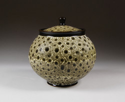 Round Lidded Jar