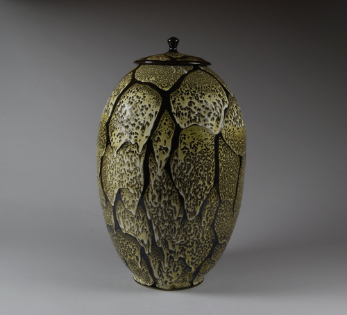 Large Lidded Vase
