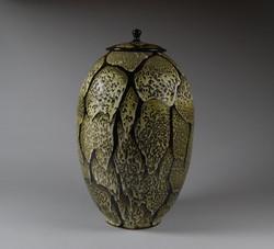 Large Lidded Vase