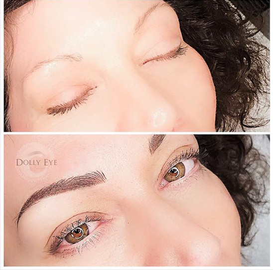 Brows don't need to be bold and thick to