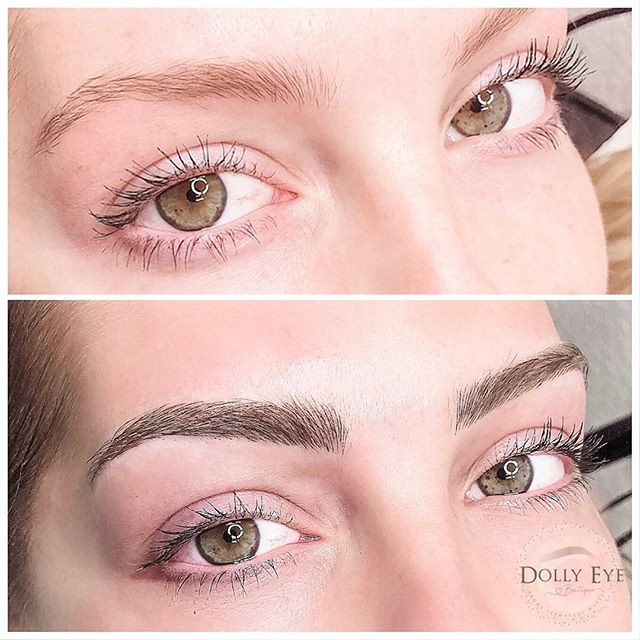 Microblading with shading for this beaut