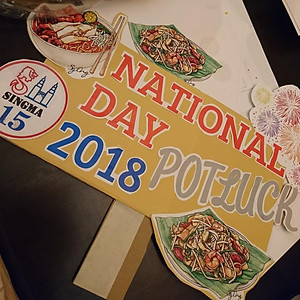 2018 National Day Potluck
