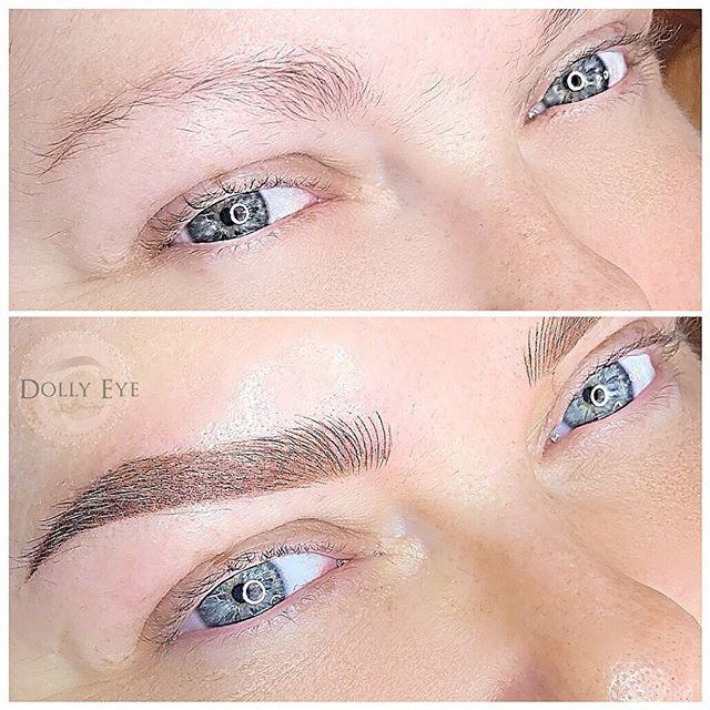 Combo brows! Transformation Thursday. Ha