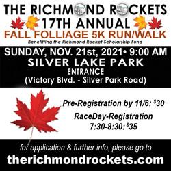 Richmond Rockets - Halloween Race 2021 Part 2
