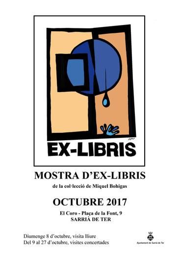 Mostra d'ex-libris a Sarrià de Ter