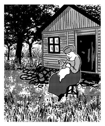 La noia del porxo