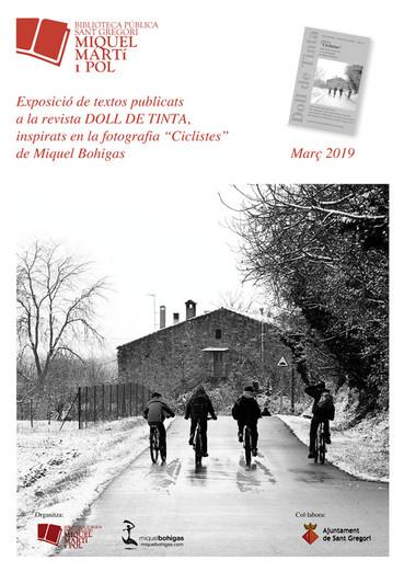 Ciclistes a la biblioteca