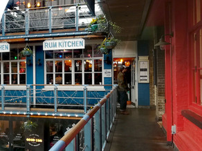 Caribbean 'Lime' in Central London at The Rum Kitchen