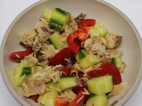 Quarantine Quick Mackerel Salad