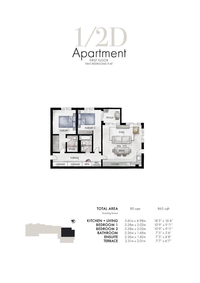 Queens Park - Apartment 1/2D