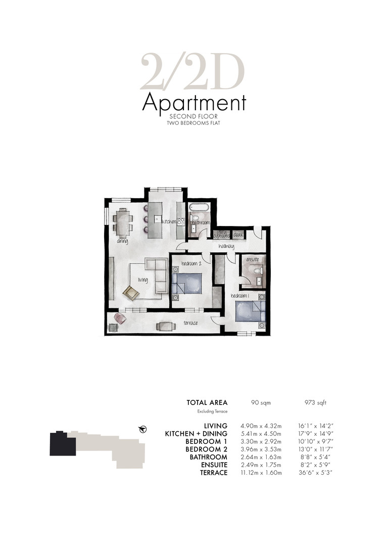 Queens Park - Apartment 2/2D