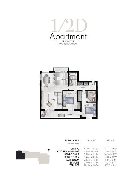 1/2d Apartment