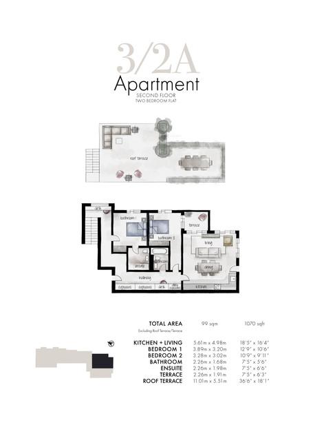 3/2a Apartment