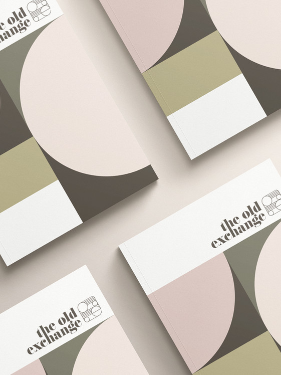 The Old Exchange Branding by Ademchic